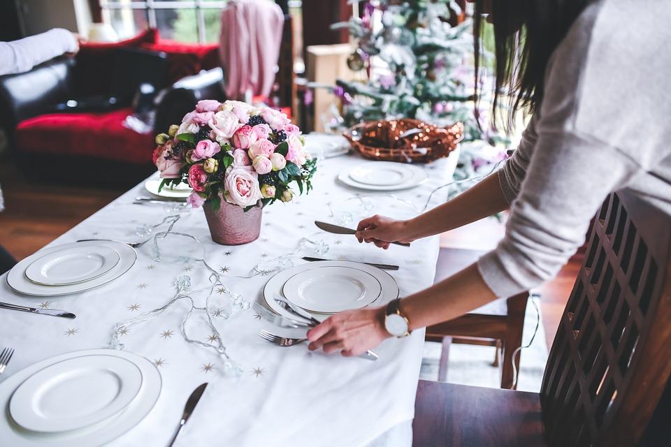 consejos decorar mesa navidad