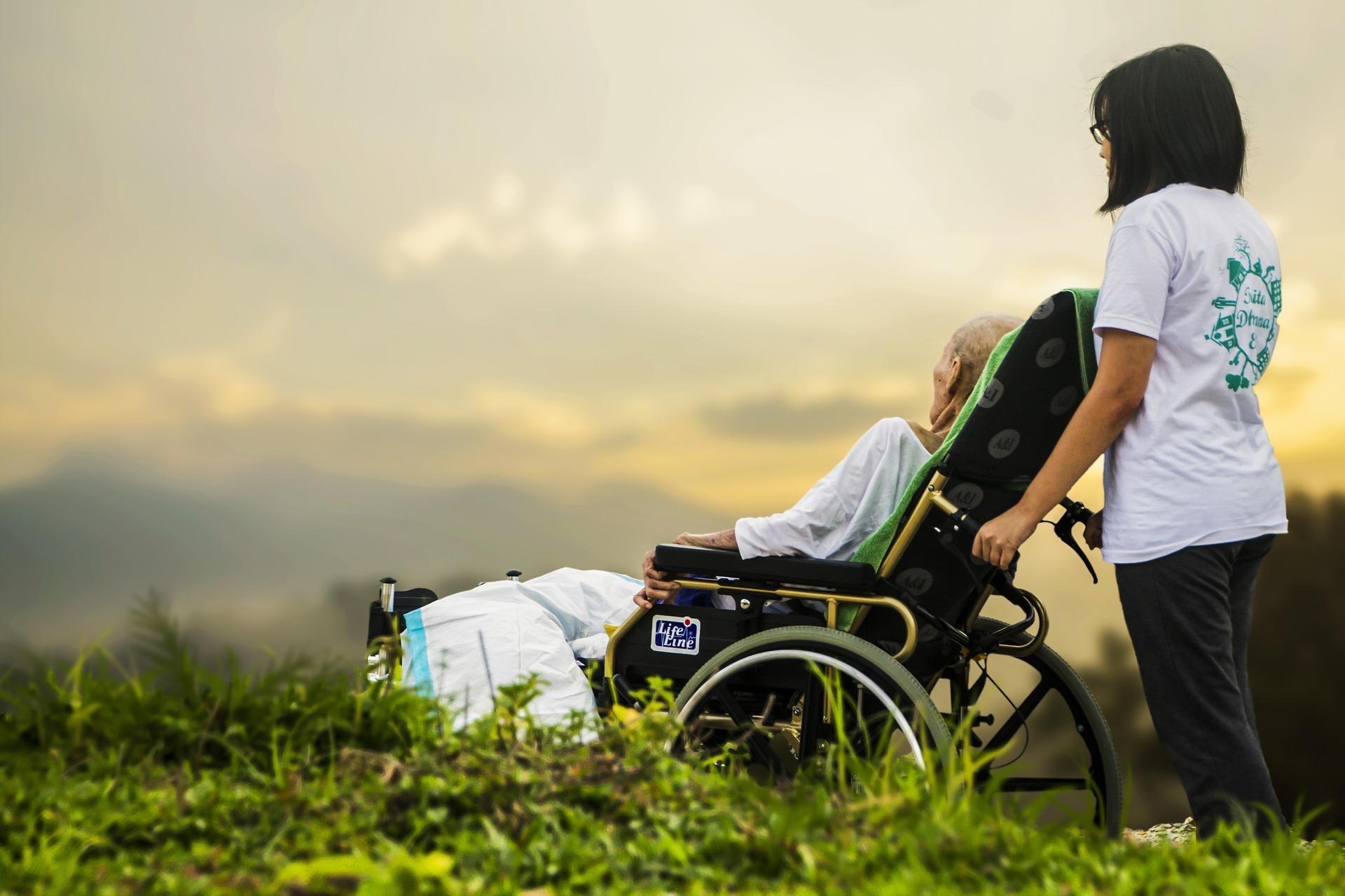 Cuidadora de dependiente