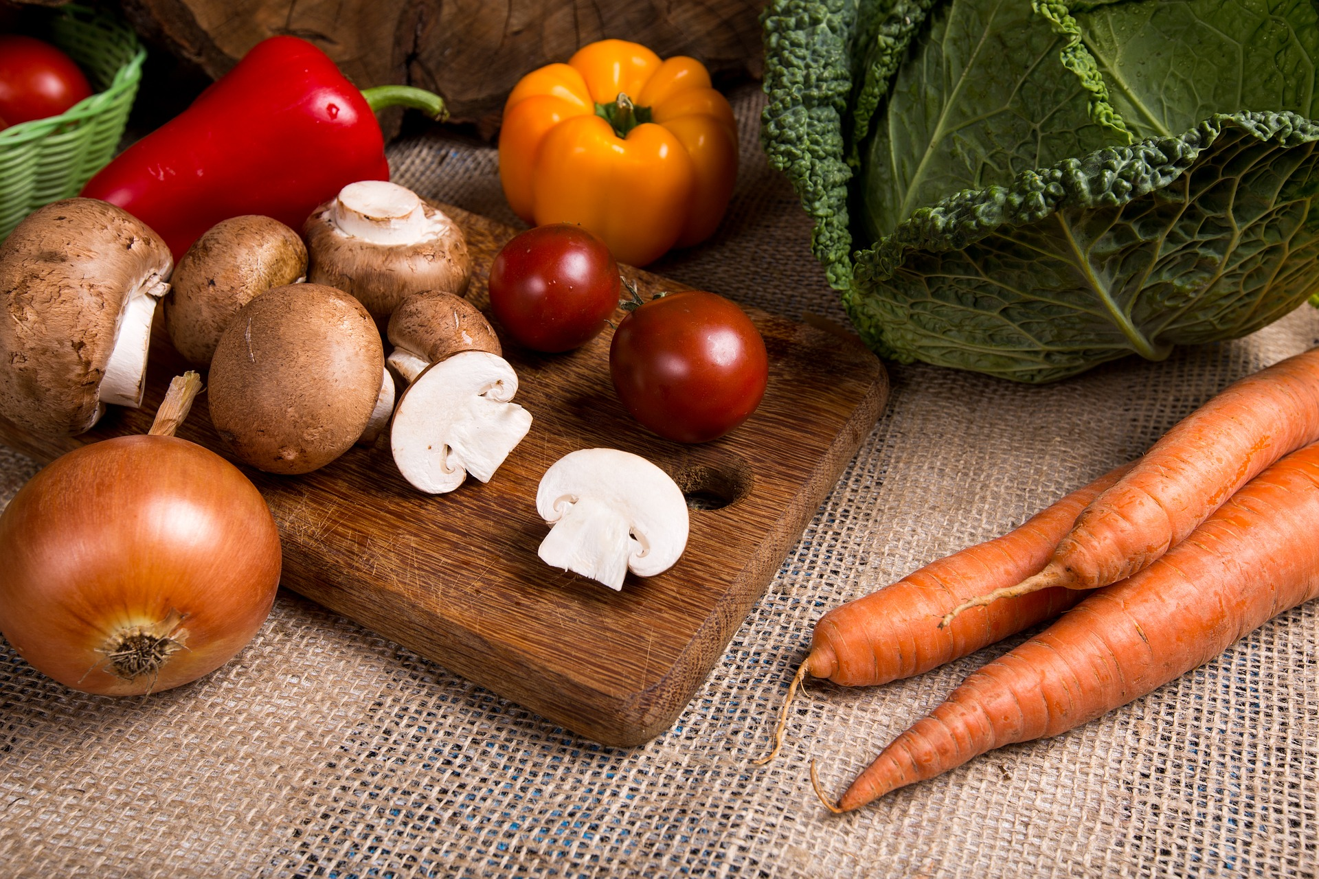 Cocinar verduras para toda la semana