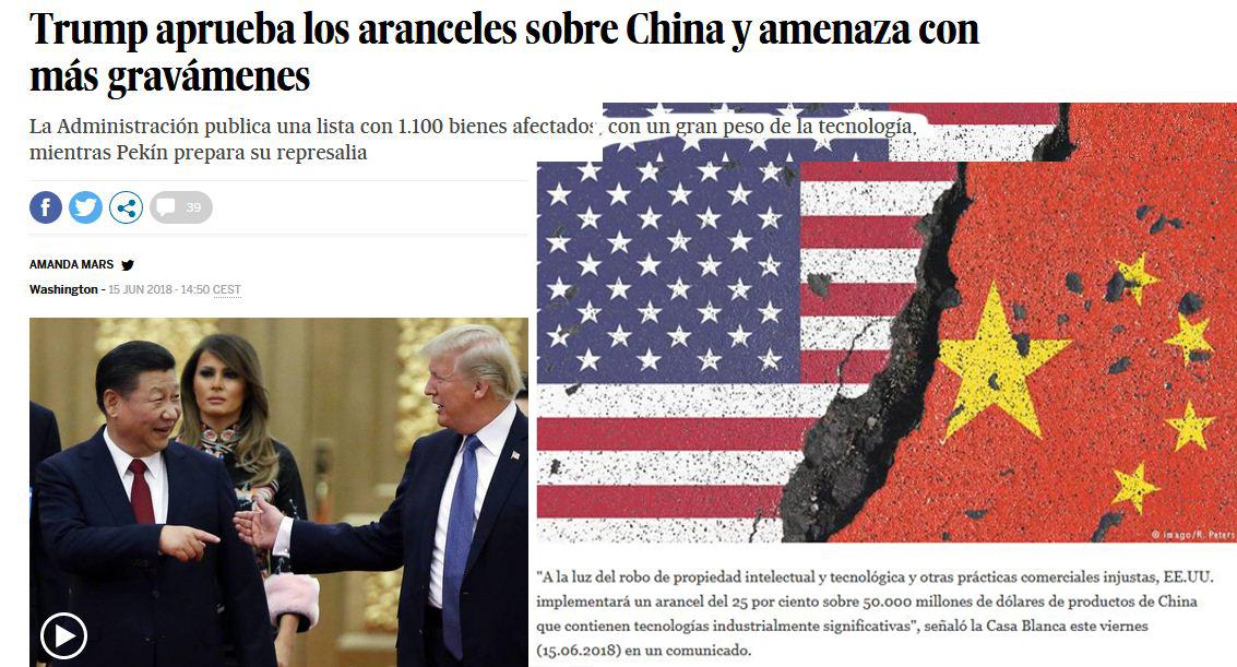 Guerra económica Trump